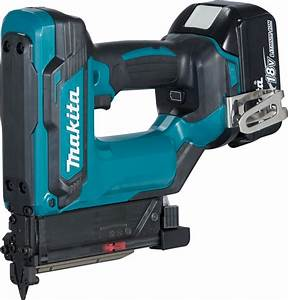Makita DPT353RTJ 18v Li-ion 23g Pin Nailer with 2