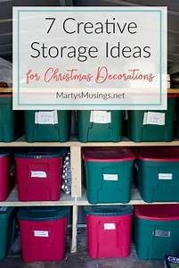 7, Creative, Storage, Ideas, For, Christmas, Decorations