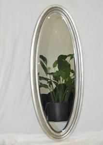 Spiegel Oval Silber : wandspiegel oval antik silber 100x40 cm antik spiegel ramon ~ Markanthonyermac.com Haus und Dekorationen
