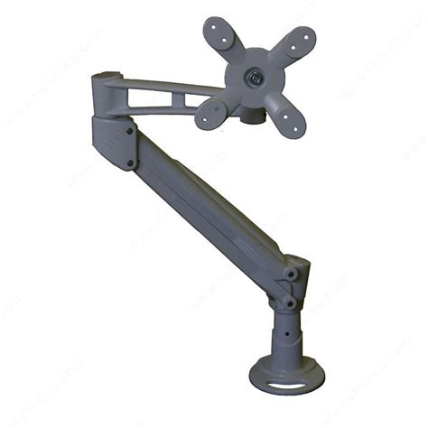 desk mount arm for flat panel monitor single monitor gas spring arm lcd flat panel desk mount