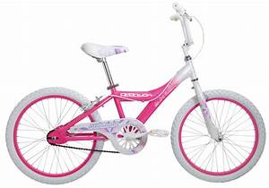 20 Inch Girl U0026 39 S Bike - Pink Starburst Children U0026 39 S Bicycle