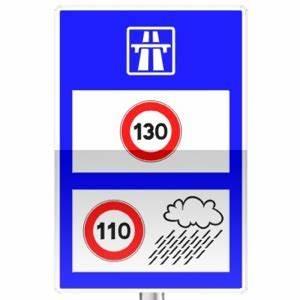 Vitesse Sur Autoroute : panneaux d 39 indication c25b tous les panneaux de signalisation sur passe ton code ~ Medecine-chirurgie-esthetiques.com Avis de Voitures