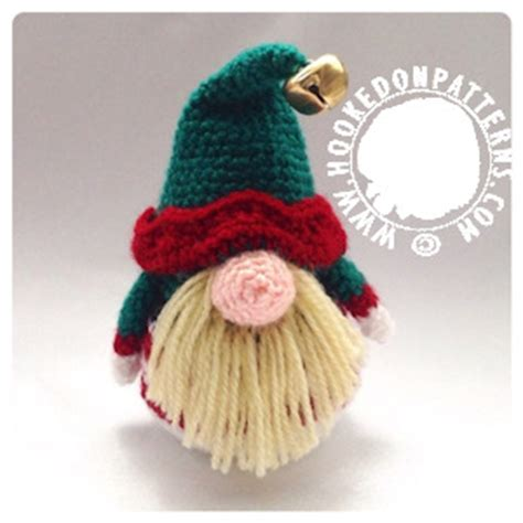 elf gonk  crochet pattern doll clothes hooked