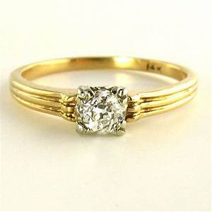 antique engagement ring early 1900s old mine cut diamond With 1900 wedding rings