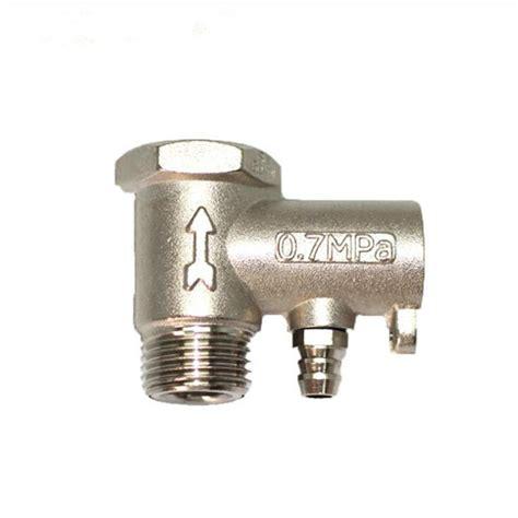water dispenser safety valve water heater boiler