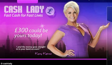 Kerry Katona: Formerly bankrupt star criticised for