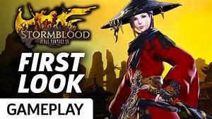 First Look At Final Fantasy XIV Stormblood39s New Jobs
