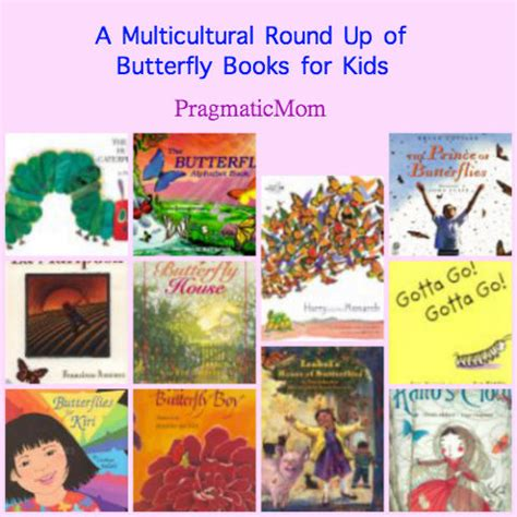 a multicultural up of butterfly books for 740 | butterflybooks2