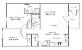 two bedroom floor plans cheap 2 bedroom apartments 2 bedroom apartment floor plan
