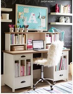 Stylish Teen Desks | College ideas | Teen desk, Study room ...