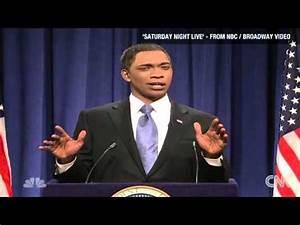 Jay Pharoah Plays President Obama on Saturday Night Live ...