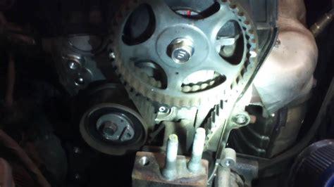 timing belt water pump replacement   hyundai