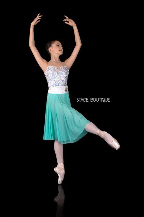 slow modern dress shimmer dance costume lyrical