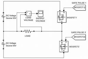 Single Phase Half Bridge And Full Bridge Inverter Circuit