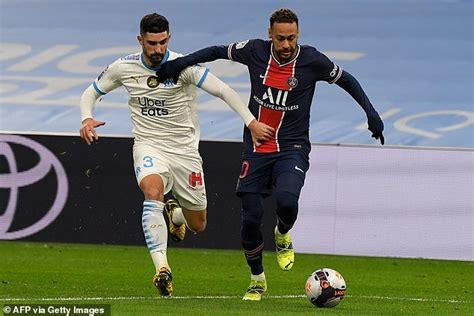 Marseille 0-2 Paris Saint-Germain: Kylian Mbappe and Mauro ...