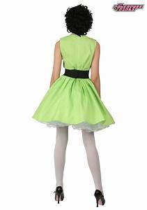Plus Size Buttercup Powerpuff Girl Costume