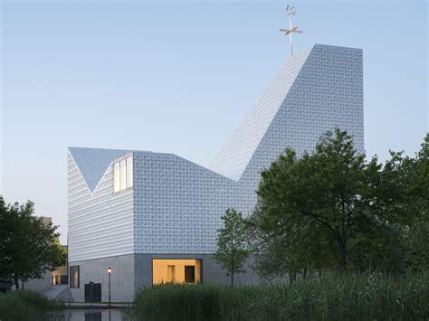 Gemeindezentrum The In Ikast by Baunetz Wissen