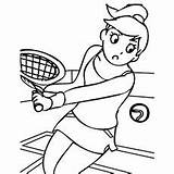 Coloring Tennis Printable Play Sport Interesting Hopscotch Momjunction Healthy Recipes Super sketch template