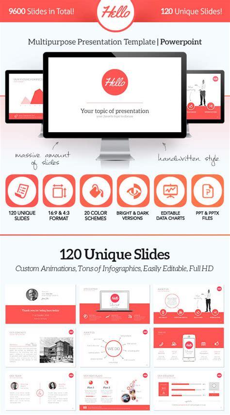 graphic design presentation 15 flat powerpoint presentation templates web graphic