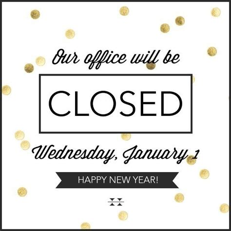 office closed for message template office closed sign template listmachinepro