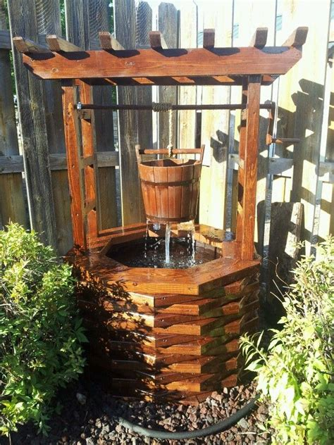 Backyard Well by Diy Wishing Well Would This For The Backyard