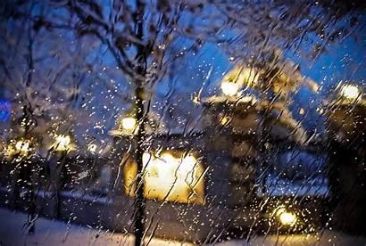 Rain Winter Wallpapers Raining Backgrounds Wallpaperaccess