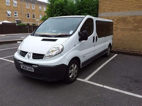 Trafic 9 Seater by 9 Seater Renault Trafic 08reg 2dci 150k Mot In
