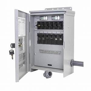 Reliance 6 Circuit Manual Transfer Switch