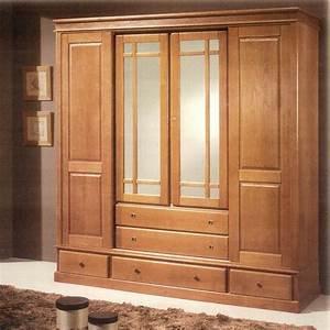 Armoire Chene Massif : meubles bois massifs meuble ch ne massif lit armoire massif ~ Teatrodelosmanantiales.com Idées de Décoration