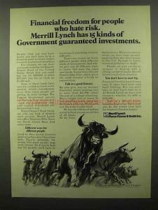 1974 Merrill Lynch Ad - Financial Freedom for People