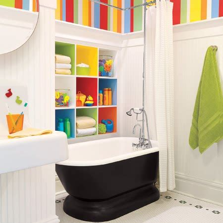 10 bathroom decorating ideas digsdigs - Kid Bathroom Decorating Ideas