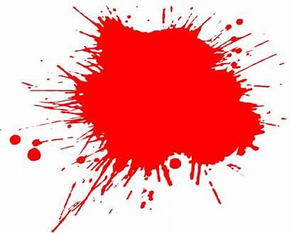 Splatter Paint Transparent Grunge Splatters Background Clipart