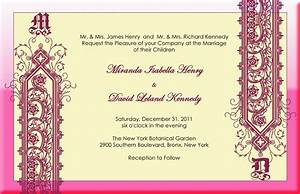marriage invitation samples indian image collections With indian wedding invitations online maker
