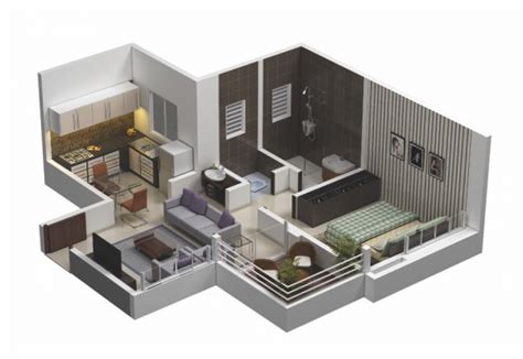 One Bedroom Apartment Layout Ideas by 25 One Bedroom House Apartment Plans