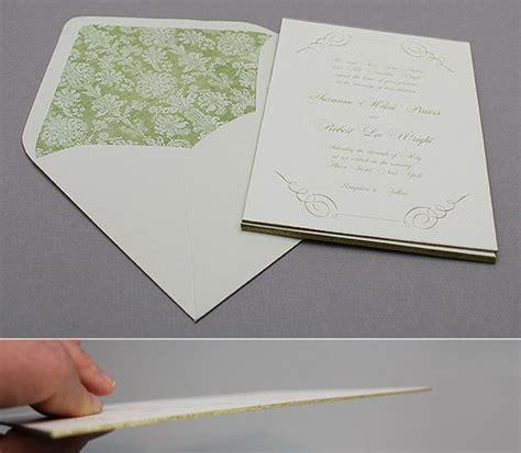 free gold gilded edge printable wedding invitation free