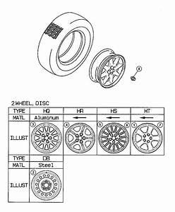 Dodge Stratus Wheel  Disc  Aluminium Silver  16x6