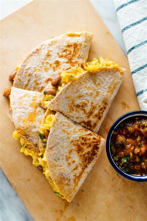 simple breakfast quesadillas recipe cookie  kate