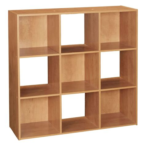 wooden cube shelf 9 cube wooden bookcase shelving display shelves storage