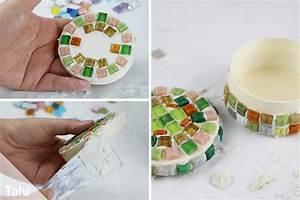 Basteln Mit Mosaiksteinen : mosaik selber machen bastel ideen mosaiksteine herstellen ~ Whattoseeinmadrid.com Haus und Dekorationen