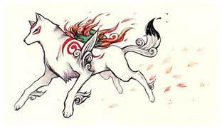 Okami Amaterasu Wolf O...