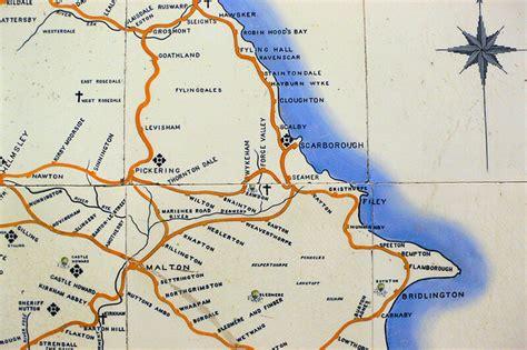 yorkshire coast   north eastern railway map