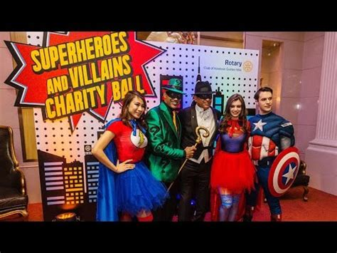 superhero themed charity ball themed parties
