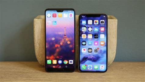 de huawei p  iphone  welk toestel wint deze strijd
