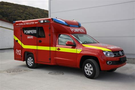 The Off-road Ambulance For First Aid And Intensive Therapy