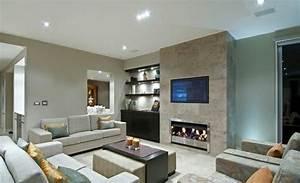 Graue Couch Wohnzimmer : schicke wohnzimmer einrichten 15 moderne wohnideen ~ Michelbontemps.com Haus und Dekorationen