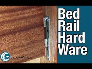 Rockler Heavy Duty Bed Rail Fasteners      How