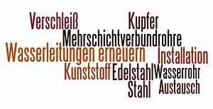 Wasserleitungen Erneuern Altbau : wasserleitungen erneuern tipps zur installation und vorgehensweise ~ Markanthonyermac.com Haus und Dekorationen