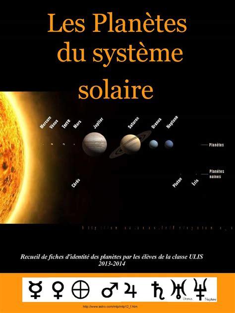 calameo les planetes du systeme solaire  ulis