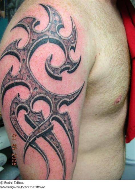tribal  sleeve tattoo  men