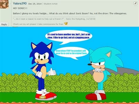 Sonic And Friends + Myself Question 74 By Tmanfox7 On